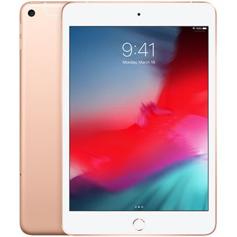 Apple iPad Mini 7.9'' Wi-Fi + Cellular - 64GB - Dourado 2019
