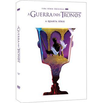 A Guerra dos Tronos - Série 4 - DVD - Game of Thrones Season 4