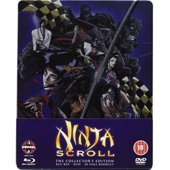 Ninja Scroll - Steelbook - Blu-ray + DVD Importação