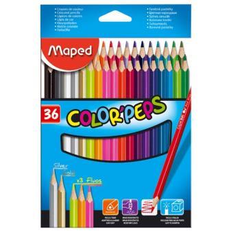 Lápis de Cor Color Peps - 36 Unidades