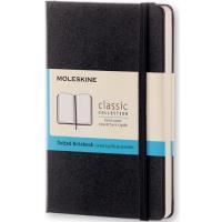 Caderno Pontilhado Moleskine Bolso Preto