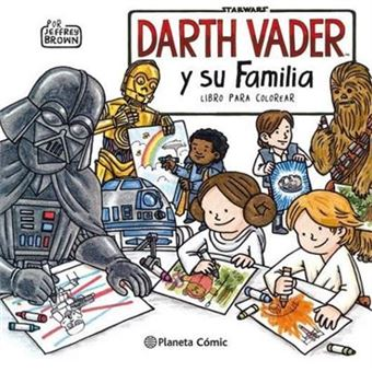 Star wars darth vader y su familia
