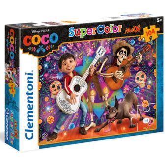 Puzzle Maxi Coco - 104 Peças - Clementoni