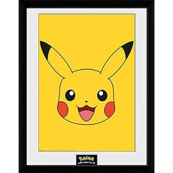 """Pokémon - Poster Emoldurado """"Pikachu"""""""