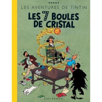 Les Aventures de Tintin - Livre 13: Les 7 Boules de Cristal
