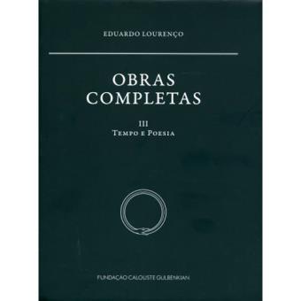 Obras Completas - Livros 3: Tempo e Poesia