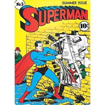 Superman - Poster Metálico Jailbreak