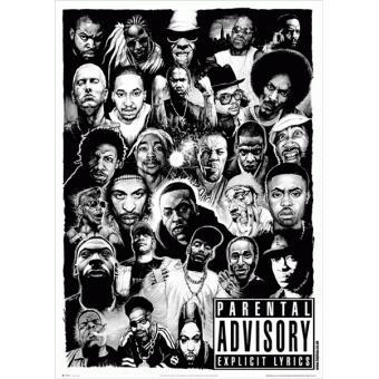 Rap Gods - Poster Standard (91,5 x 61 cm)