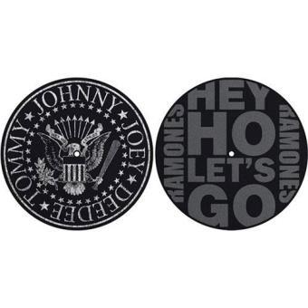 Slipmat Set: Ramones - Classic Seal & Hey Ho