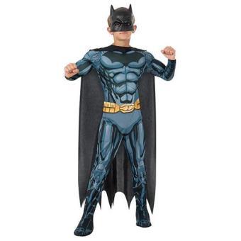 Disfarce Batman Musculoso DLX (Tamanho L 8 a 10 anos)