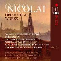 Nicolai   Orchestral Works 2