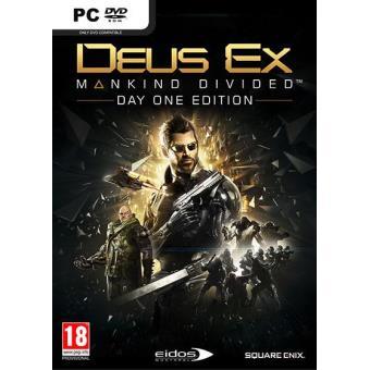 Deus Ex: Mankind Divided PC (Day One Edition)