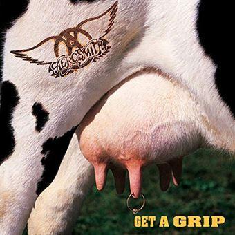 Get a Grip - LP White Vinyl