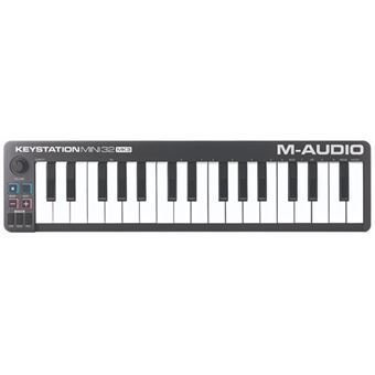 Teclado Controlador M-AUDIO - Keystation Mini 32MKIII