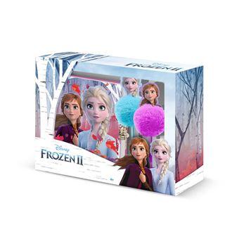 Diário Frozen com Chave e Caneta