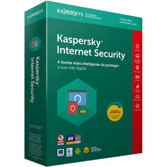 Kaspersky Internet Security Multi-Device 2018 - 1 Dispositivo | 1 Ano