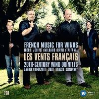 Les Vents Français | French Music for Winds & 20th Century Wind Quintets (2CD)