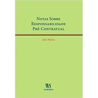 Notas Sobre Responsabilidade Pré-Contratual
