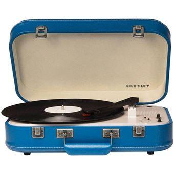 Gira-Discos Crosley Coupe Bluetooth (Azul)