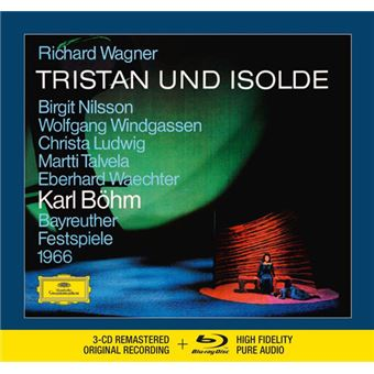Wagner: Tristan und Isolde - 3CD + Blu-ray
