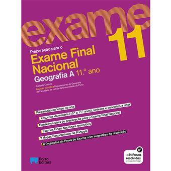 Preparação Para o Exame Nacional - Geografia A 11º Ano