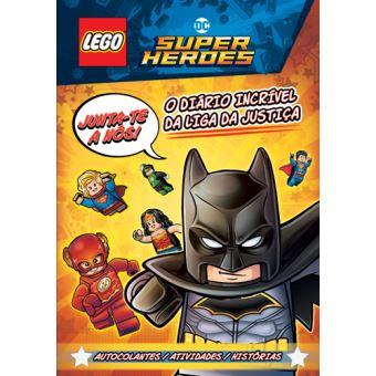 LEGO DC Comics Super Heroes: O Diário Incrível da Liga da Justiça