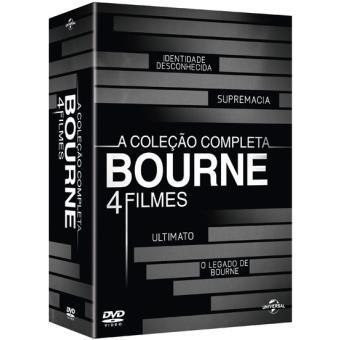 Coleção Completa Bourne - 4 Filmes