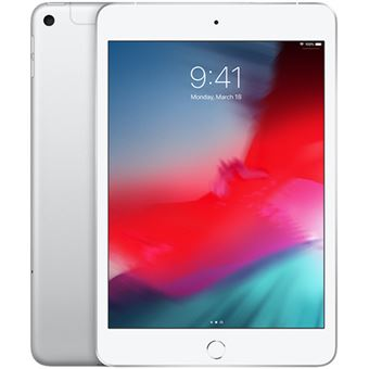 Novo iPad Mini Apple 7.9'' Wi‑Fi + Cellular - 256GB - Prateado 2019