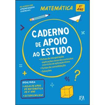 Cadernos de Apoio ao Estudo - Matemática 5º Ano