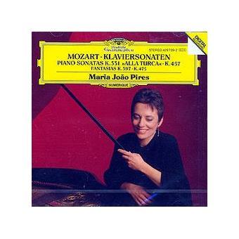 Mozart | Paini Sonatas nº 11,14 & Fantasias K.475 e K.397