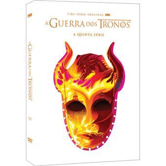 A Guerra dos Tronos - Série 5 - DVD - Game of Thrones Season 5