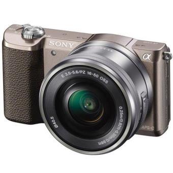 Sony Alpha α5100 + SEL1650 16-50 mm f/3.5-5.6 PZ OSS (Castanho)