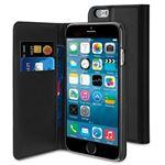 8ec0bdee1 Muvit Capa Folio Slim Preto para iPhone 6s 6