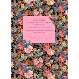 Giftwrap Papers: 19th Century French Flowers