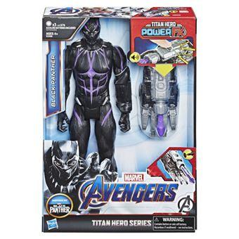 Figura Avengers Titan Hero FX Black Panther 30cm - Hasbro