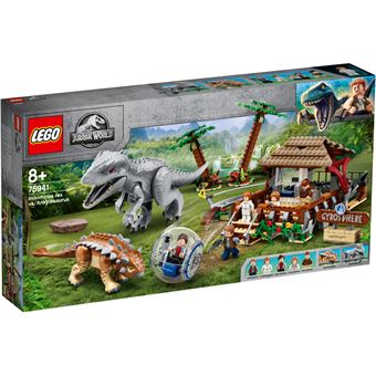 LEGO Jurassic World 75941 Indominus Rex Vs Anquilossauro