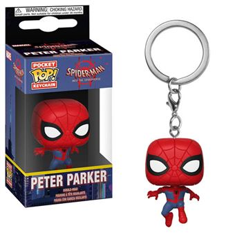 Funko Pop! Porta-Chaves Spider-Man into the Spiderverse: Peter Parker