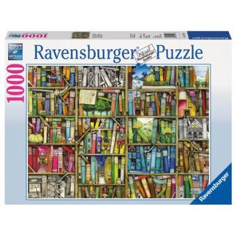 Puzzle 1000 Peças - The Bizarre Bookshop