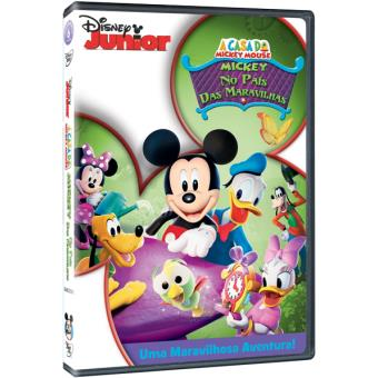 A Casa do Mickey Mouse: As Aventuras do Mickey no País das Maravilhas