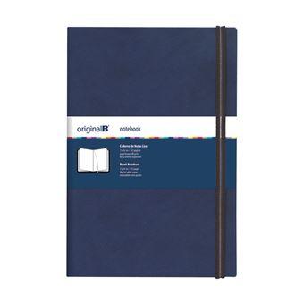 Caderno Liso Original B Azul