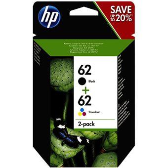 HP Pack Tinteiro Preto Nº62 + Tricolor Nº62 (J3M80AE)