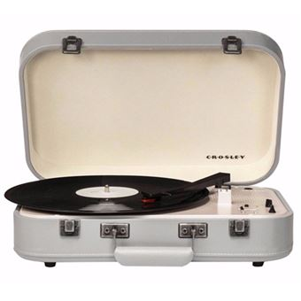 Gira-Discos Crosley Coupe Bluetooth (Cinzento)