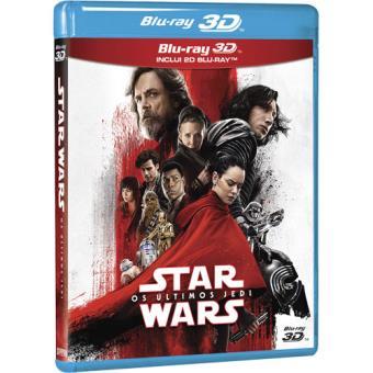 Star Wars: Episódio VIII - Os Últimos Jedi - Blu-ray 3D + 2D