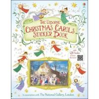 The Usborne Christmas Carols Sticker Book