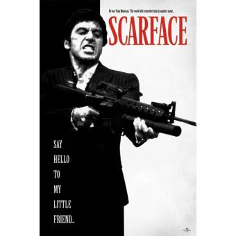 Scarface (Say Hello To My Little Friend) - Poster Standard (91,5 x 61 cm)