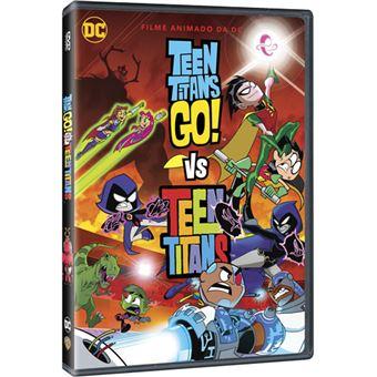 Teen Titans Go! Vs. Teen Titans - DVD