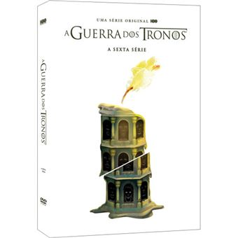 A Guerra dos Tronos - Série 6 - DVD - Game of Thrones Season 6
