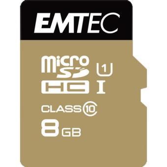Emtec Cartão MicroSDHC Classe 10 Gold+ 85MB/s - 8GB