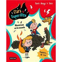Clara & superalex 2-monstruos en la
