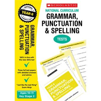 Grammar, punctuation and spelling t